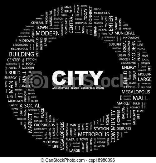 CITY. - csp18980096