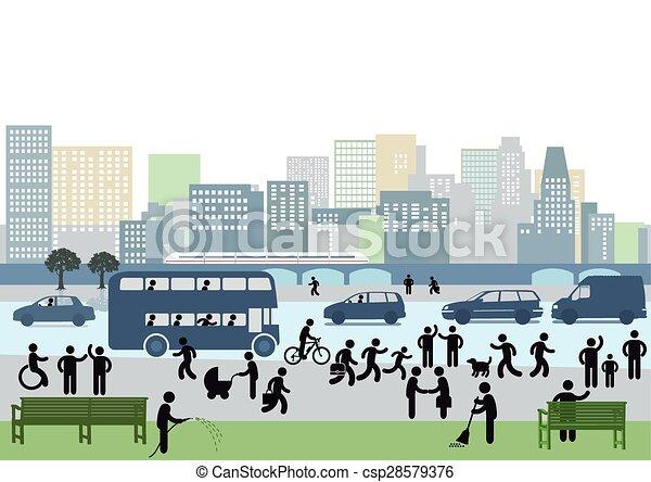 city-.eps - csp28579376