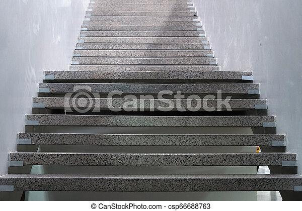 city., escaliers., résumé, ston, granit, steps., escalier - csp66688763