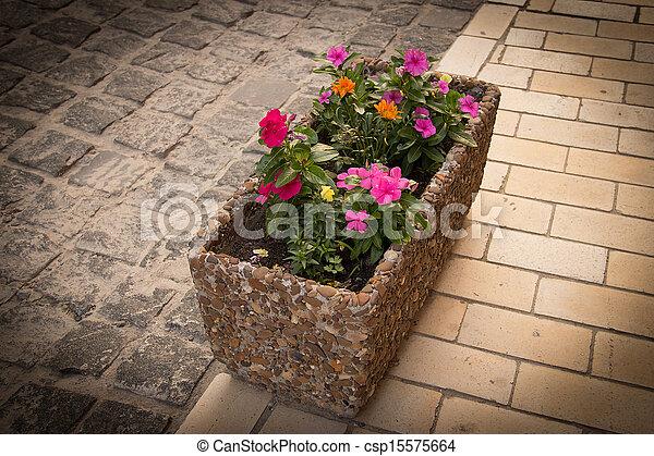 City flowers - csp15575664