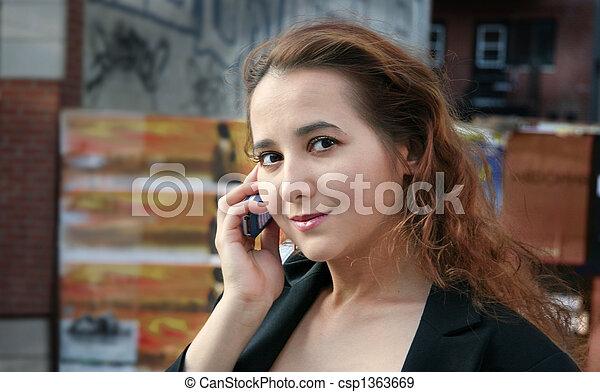 City girl - csp1363669
