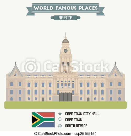 City Hall. Cape Town, South Africa - csp25155154