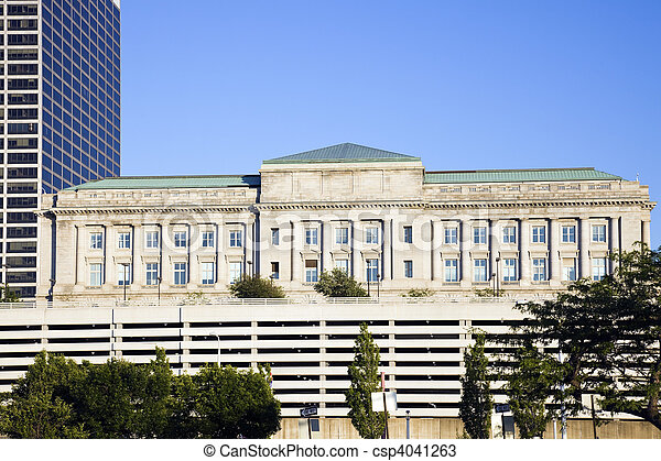 City Hall in Cleveland - csp4041263