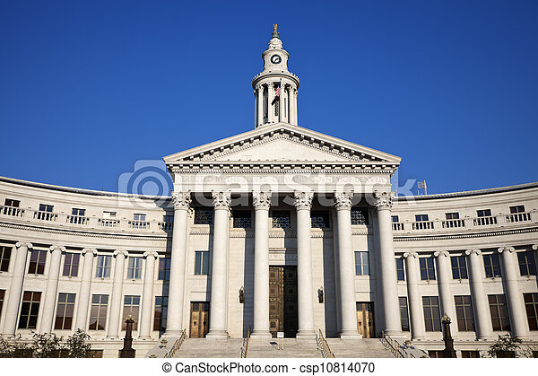 City Hall in Denver - csp10814070
