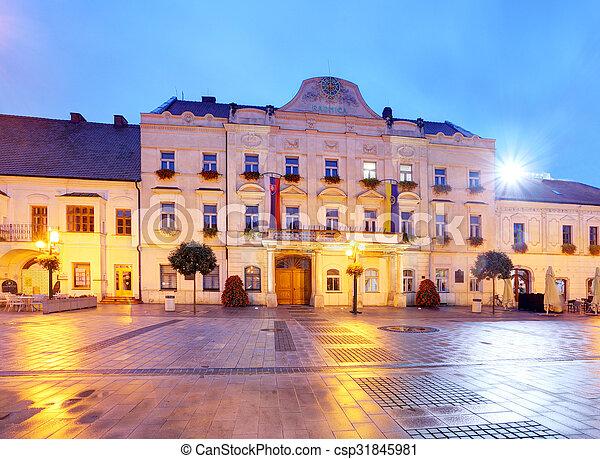 City hall in Trnava, Slovakia - csp31845981