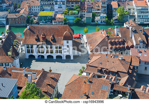 City Hall Square in Thun - csp16943996