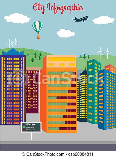 City infographics - csp20084811
