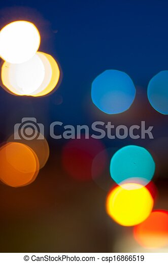 City Lights - csp16866519