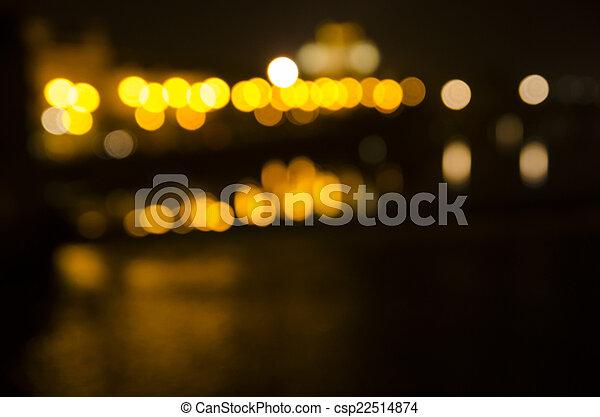 City Lights - csp22514874