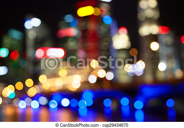 City lights - csp29434670