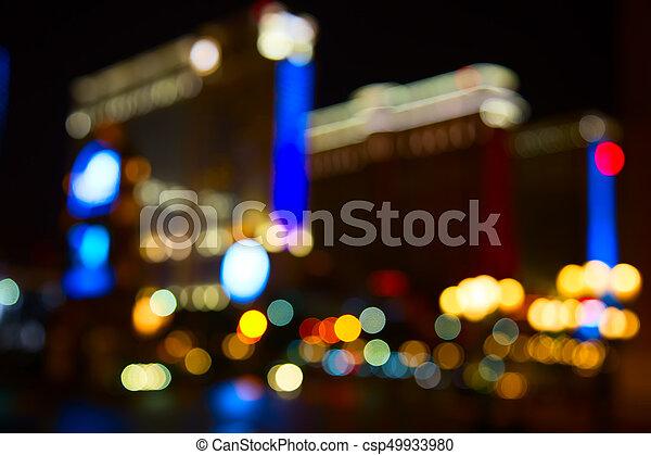 City lights - csp49933980