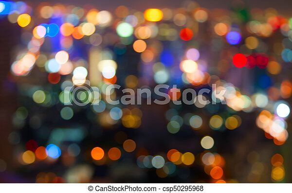 City lights - csp50295968