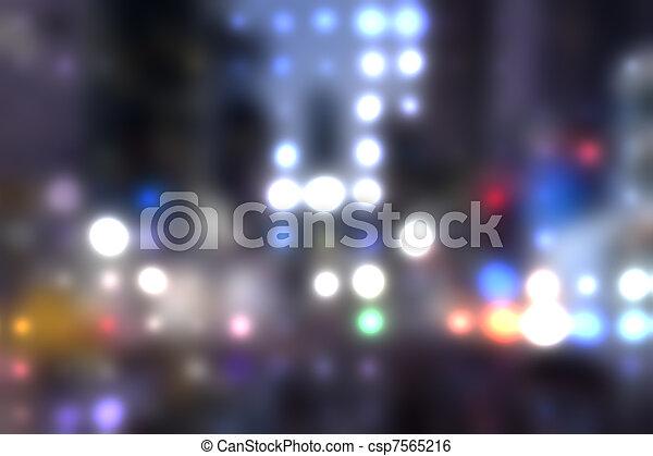 city lights - csp7565216