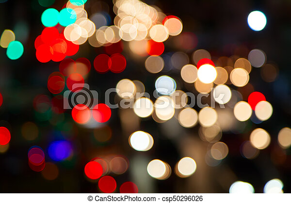 City lights - csp50296026