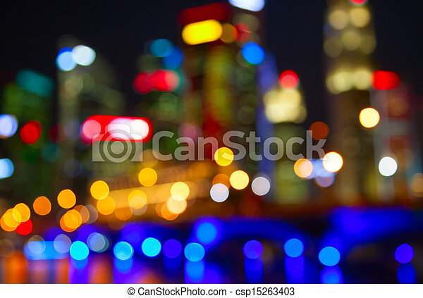 City lights - csp15263403