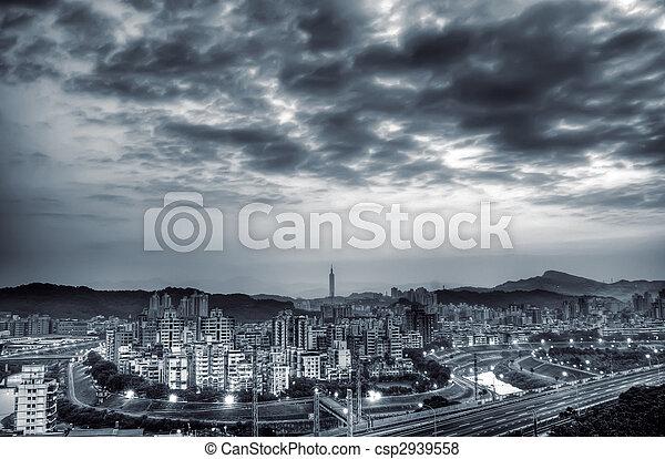 City morning - csp2939558