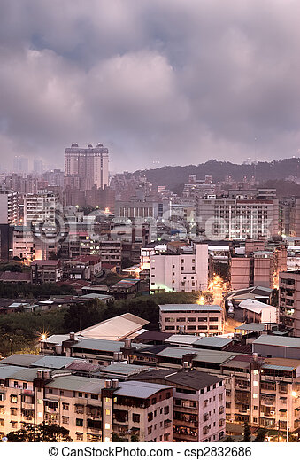 City morning - csp2832686