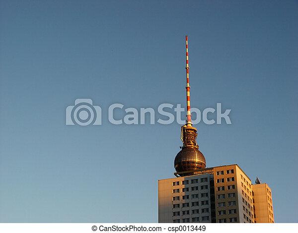 city morning - csp0013449