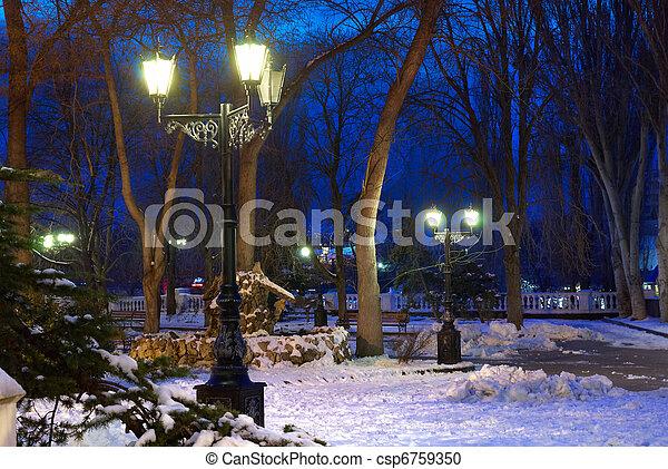 City night scene - csp6759350
