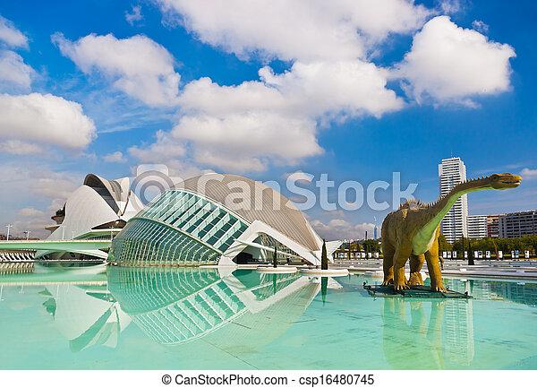 City of Arts and Sciences - Valencia Spain - csp16480745