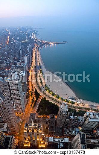 City of Chicago. - csp10137478