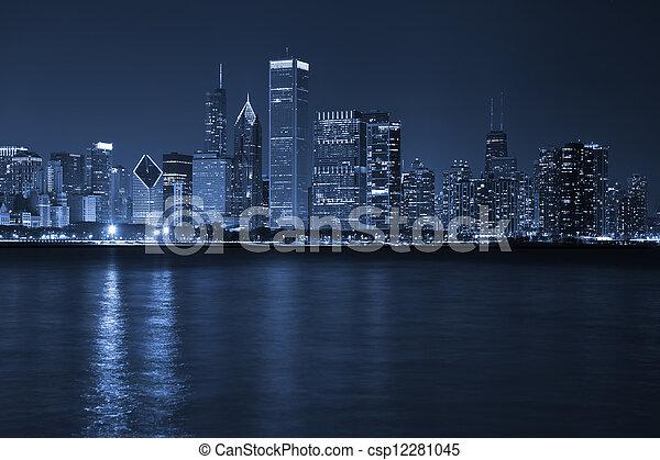 City of Chicago. - csp12281045