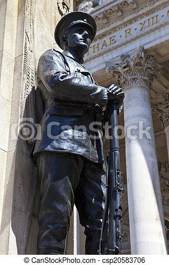 City of London War Memorial - csp20583706