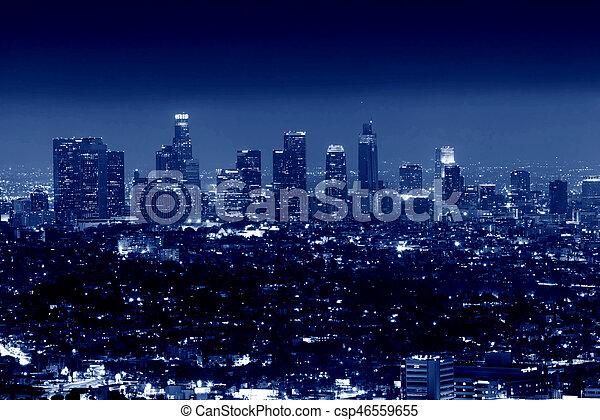 City of Los Angeles, California, USA - csp46559655