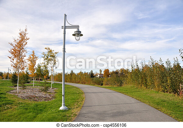City Park in the Fall - csp4556106