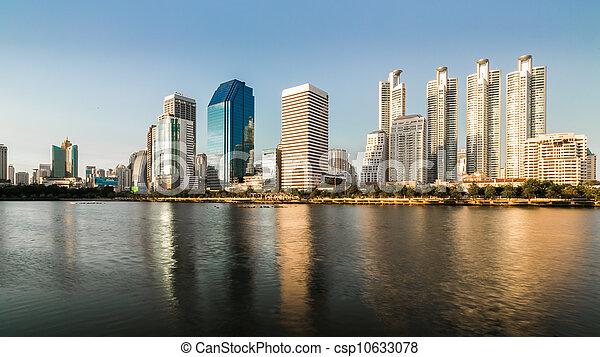 city scape of Bangkok, Thailand - csp10633078