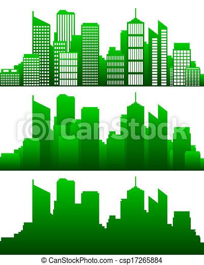 City skyline - csp17265884