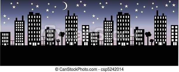 city skyline - csp5242014