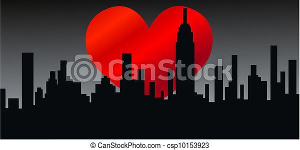 city skyline - csp10153923