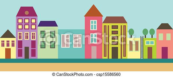 City street - csp15586560