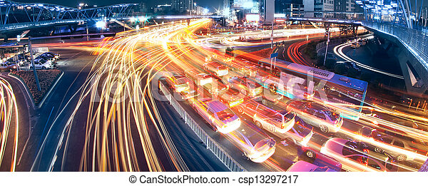 city traffic - csp13297217