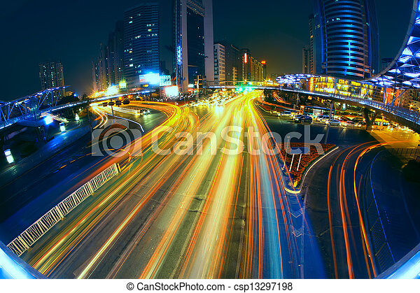 city traffic - csp13297198