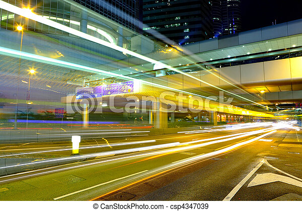 city traffic - csp4347039