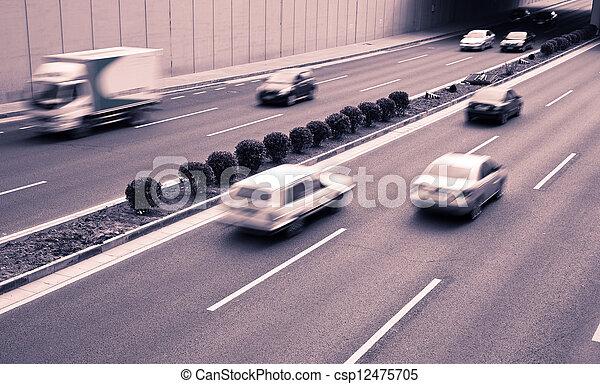 City traffic - csp12475705
