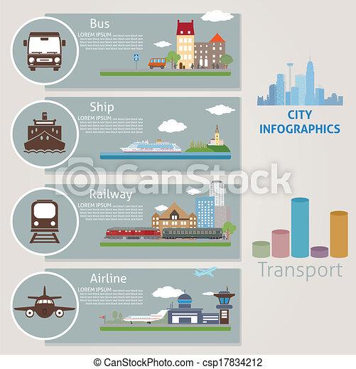 city., transport - csp17834212