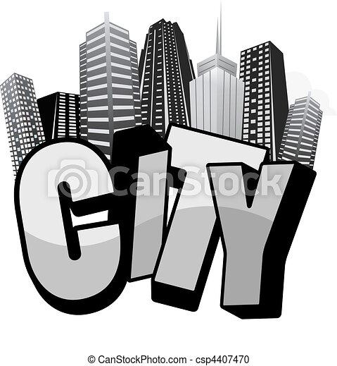 city typo - csp4407470