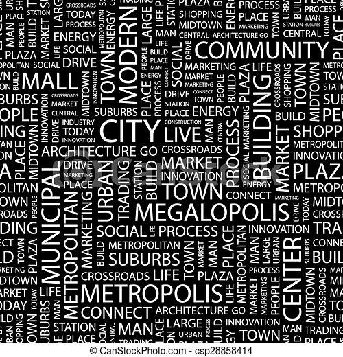CITY. - csp28858414