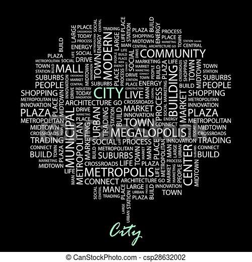 CITY. - csp28632002