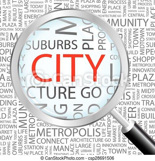 CITY. - csp28691506