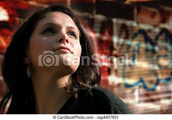 City Woman - csp4407931