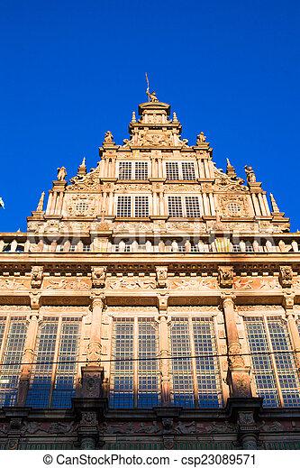 Cityhall in Bremen, Germany, - csp23089571