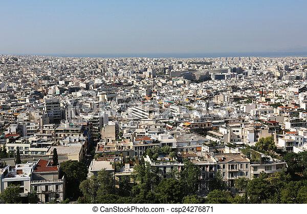 Cityscape Athens - csp24276871