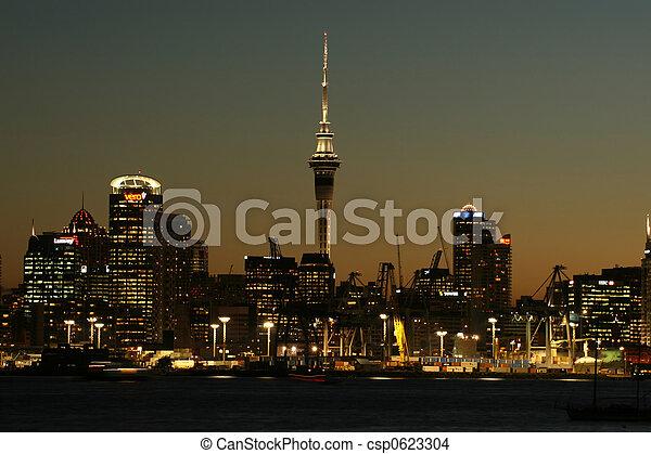 cityscape, auckland - csp0623304
