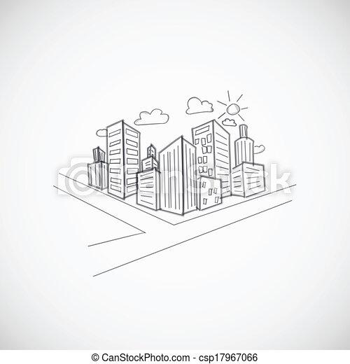 Cityscape background - csp17967066