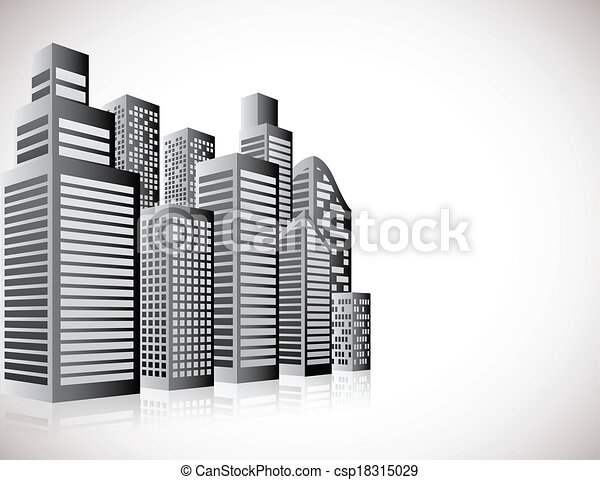 Cityscape background - csp18315029