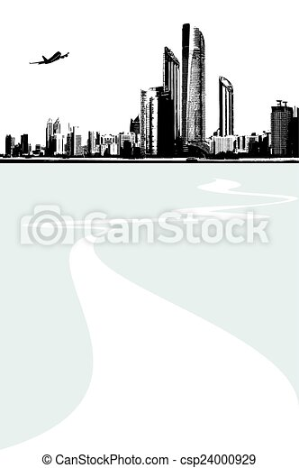Cityscape background - csp24000929